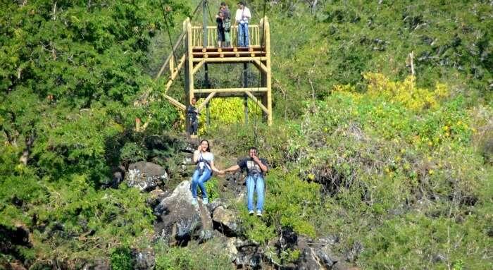 Chiranth's adventurous day in Mauritius
