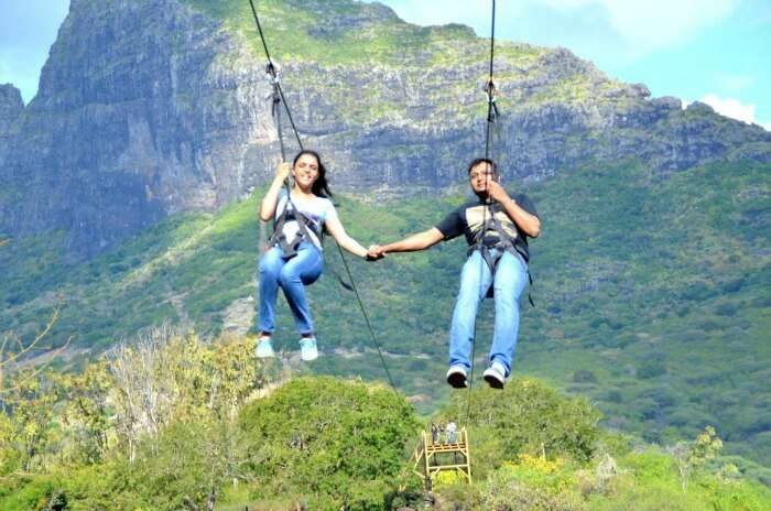 Flying high in Mauritius