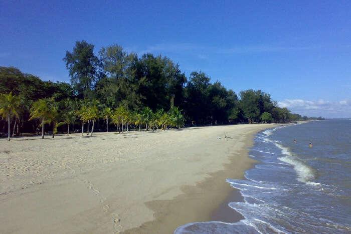 East Coast Park Beach Area
