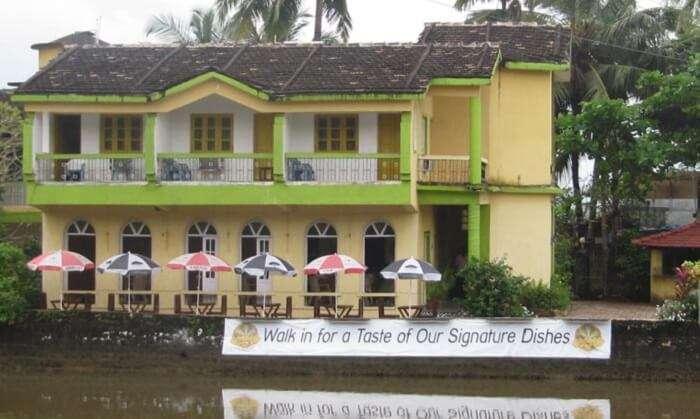 Hotel Riverside is one of the closest hotels in Goa near Baga Beach