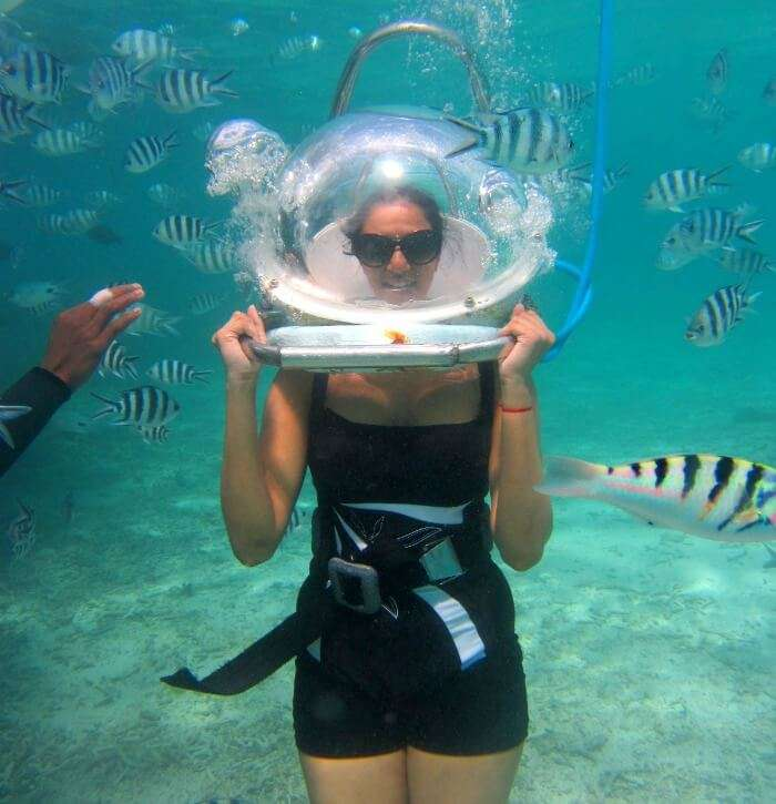 Underwater sea-walk- Things to do in Mauritius