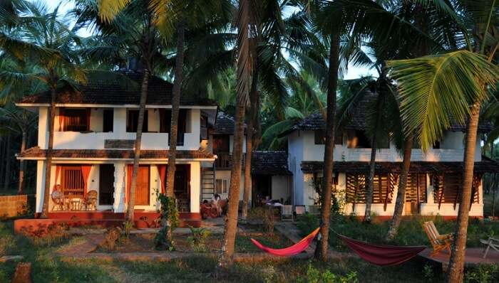 Two luxury cottages at Kannur Beach house - an economy beach resort in Kerala