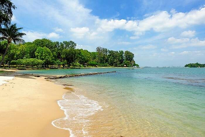 The picturesque beauty of Lazarus Island which houses many unexplored beaches in Singapore