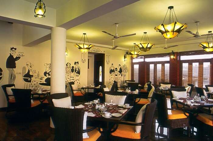 The restaurant in Lazy Lagoon is amongst the most popular restaurants in the area