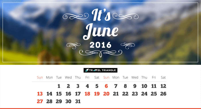 List of all the long weekends in June 2016
