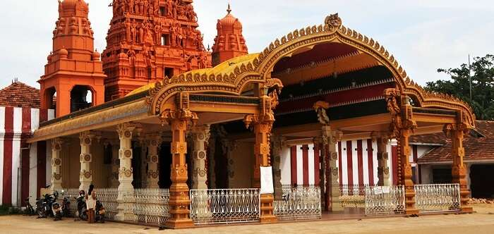 Mannavari Temple in Chilaw is the first stop of the Ramayana tour in Sri Lanka