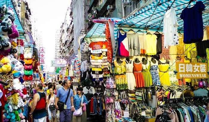 977607525d2 Ladies Market at Mongkok is one of the most popular shopping places in Hong  Kong