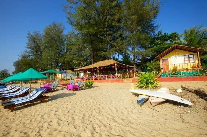 The idyllic settings of Patnem beach makes it the best among South Goan beaches