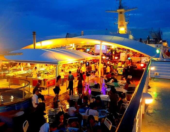 Activities on the Bounty Cruise