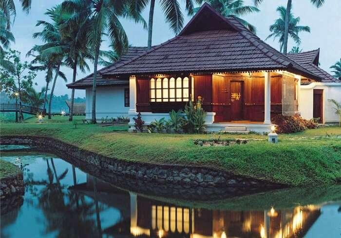 Heritage Villas at Kumarakom Lake Resort - one of the best resorts in Kumarakom