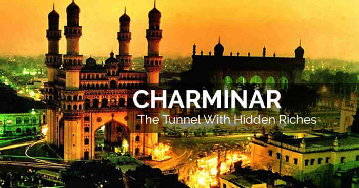 The famous Charminar of Hyderabad