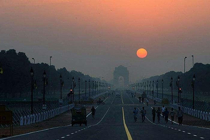 Delhi has some stunning spots for witnessing the sunrise