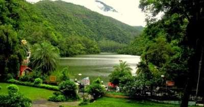 Lush greenery can be seen on a weekend getaway to Renuka Lake