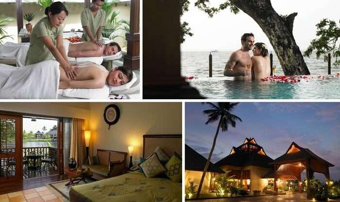 A view of the amenities at the Zuri Resort in Kumarakom