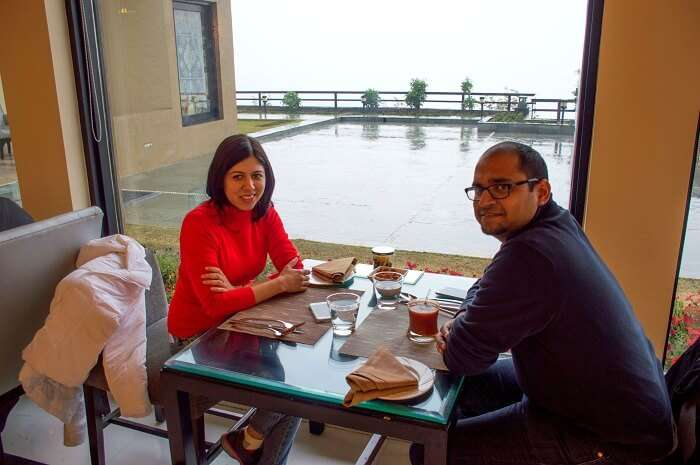 At Taj, srinagar
