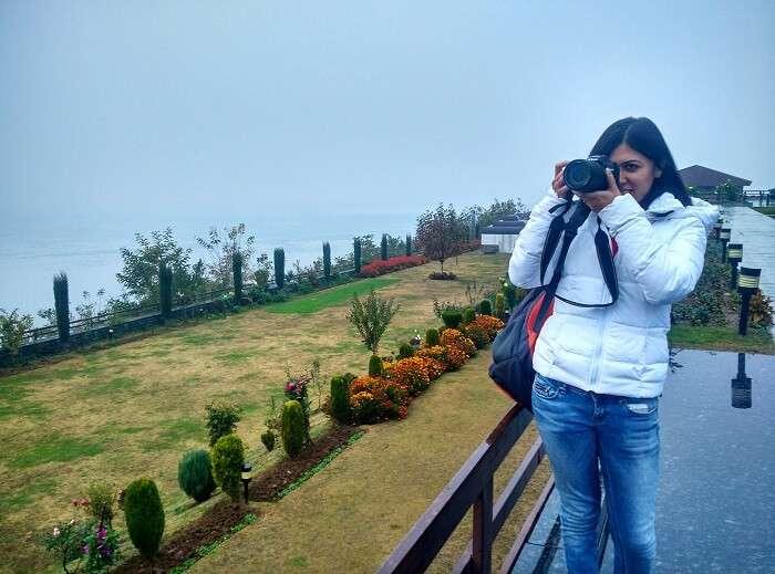 Gardens at Taj srinagar