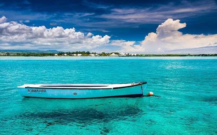 Blue Bay Beach is the most pure beach in Mauritius