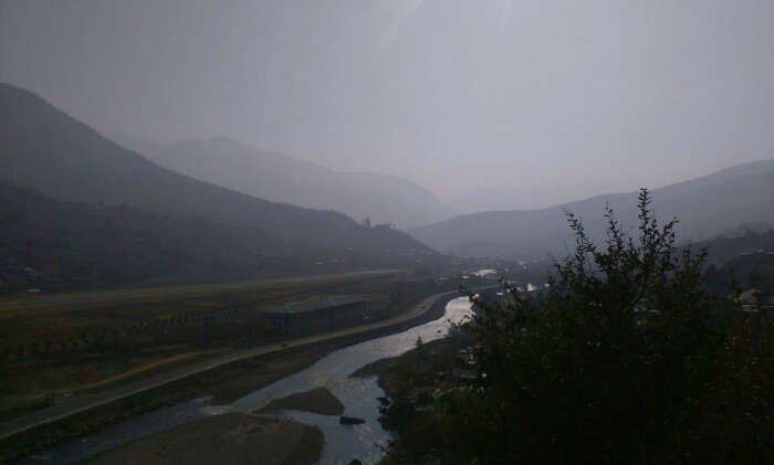 evening view of the scenic Bhutan