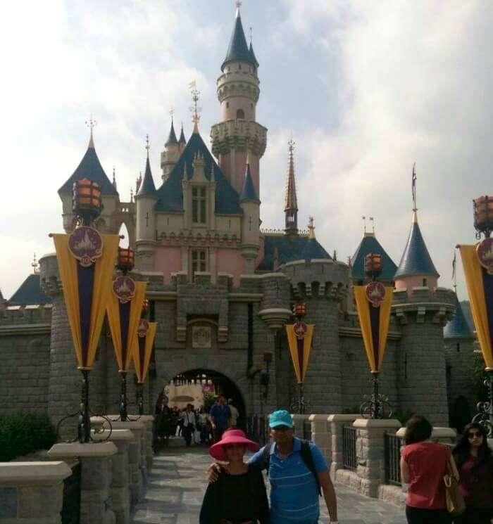 Feeling the magic of Disneyland in Hong Kong