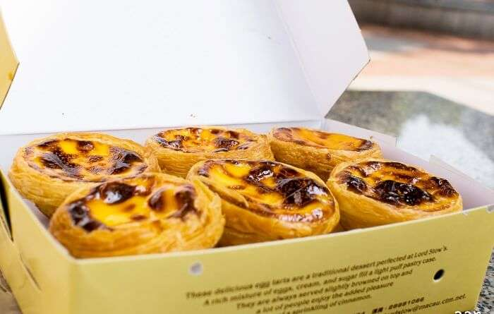 Portuguese Egg Tart from Lord Stow's Bakery