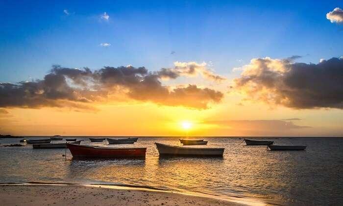 Tamarin Beach is a picture-perfect beach in Mauritius
