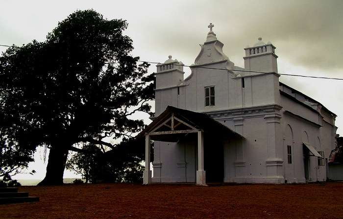 he Three Kings Chapel is the most popular haunted place in Goa