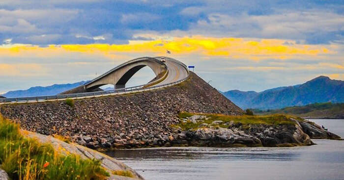 The deadly beauty of Atlantic Ocean Road in Norway is unparalleled