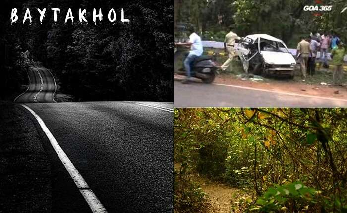 The haunted lanes at Baytakhol and a recent accident that took place