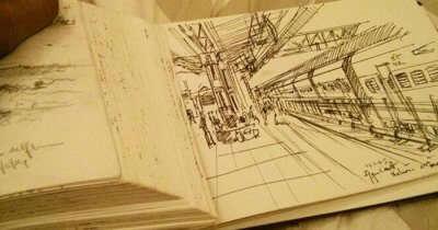 A doodle diary of an Italian traveler