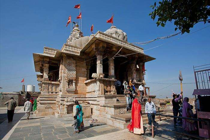 The famous temple of Chittorgarh