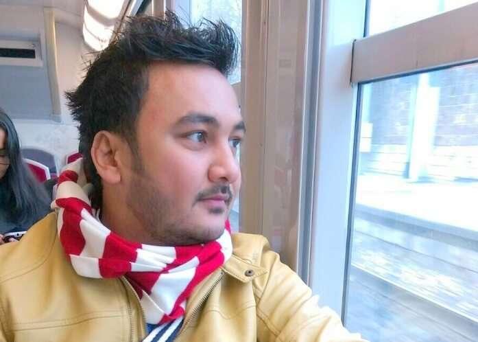 Manvis husband on Eurorail