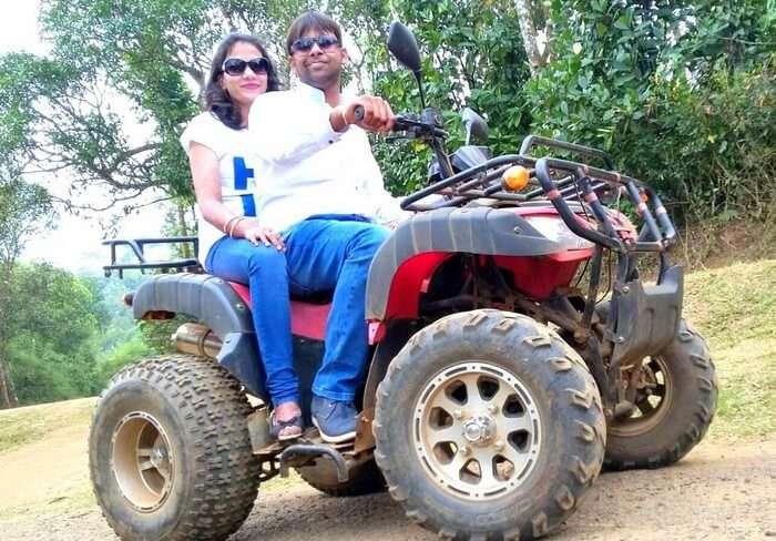 ATV ride at The Persian Paradise
