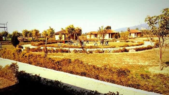 Rajveer's resort in Jim Corbett