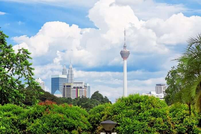 Menara KL Tower stand tall and proud in Kuala Lumpur