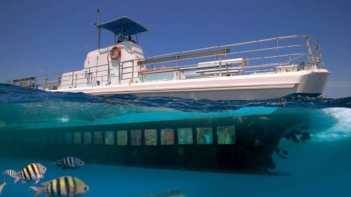 Semi Submarine Ride in Port Blair Andaman
