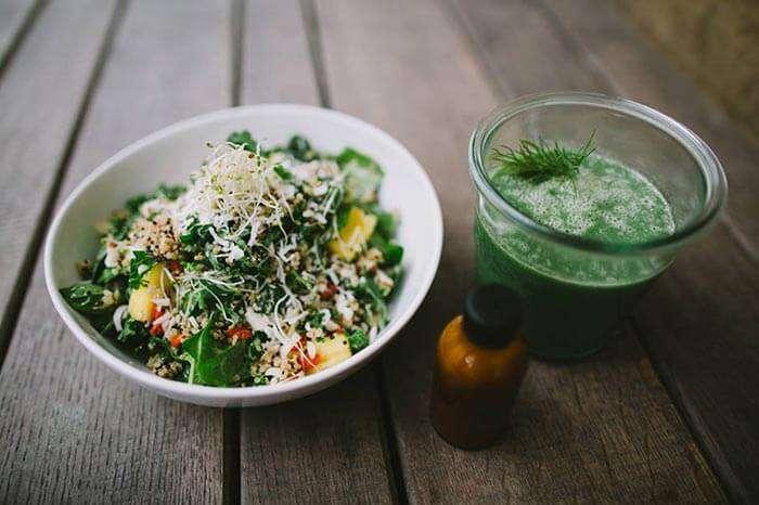 Vegan cuisine at Kopps, Berlin