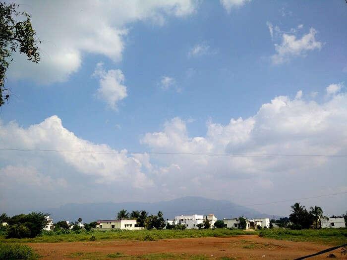 Scenery in Kanyakumari India