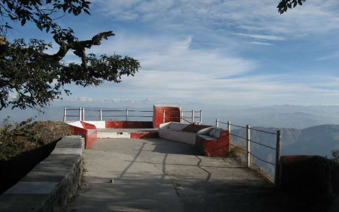 Enjoy the magnificent view from Tip N Top