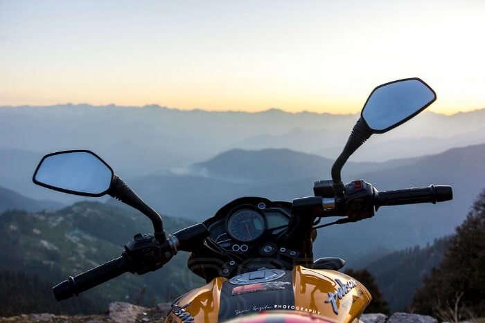 Go on a biking trip to Mashobra