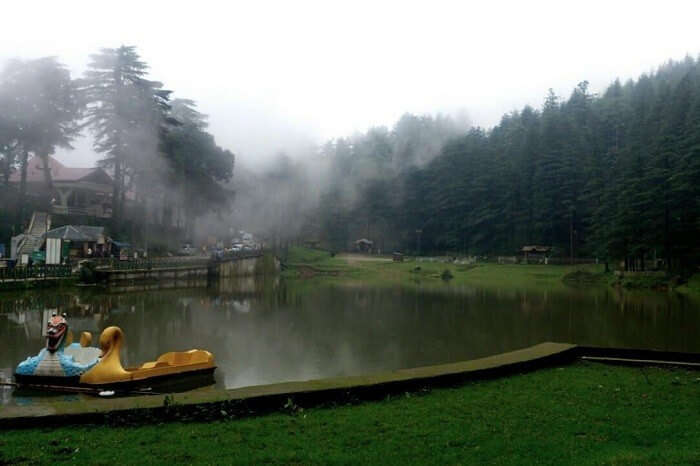 Going for a boat at Dal Lake is one of the things to do in Mcleodganj with family