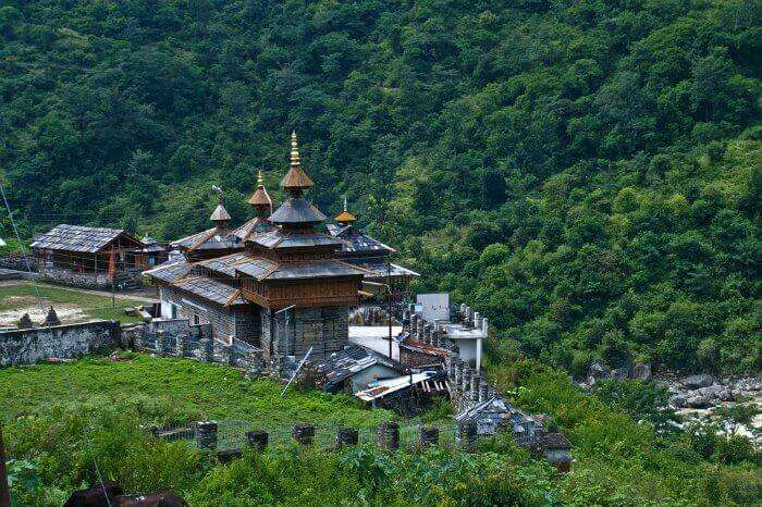 The Mahasu Temple in Mashobra- a center of festivities during Mahasu Jataya ritual in May