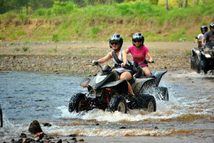 Do quad biking in Mashobra- one of the offbeat things to do in Mashobra
