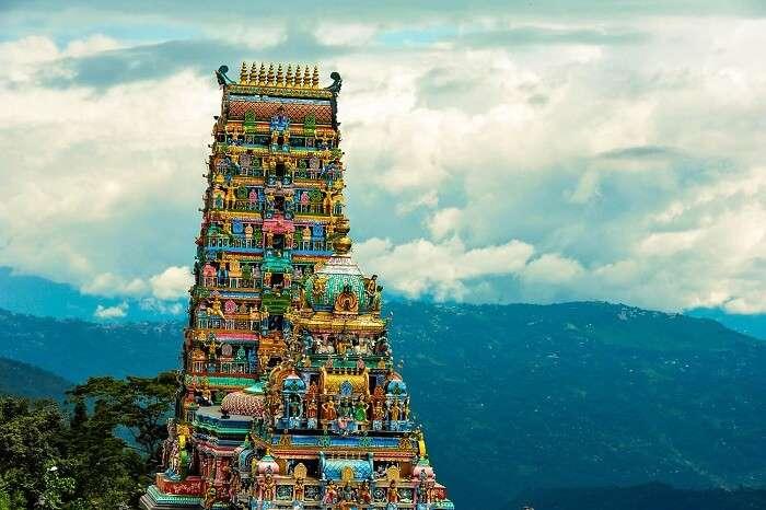 A splendid shot of the Rameshwaram Temple of the original Char Dham Yatra circuit