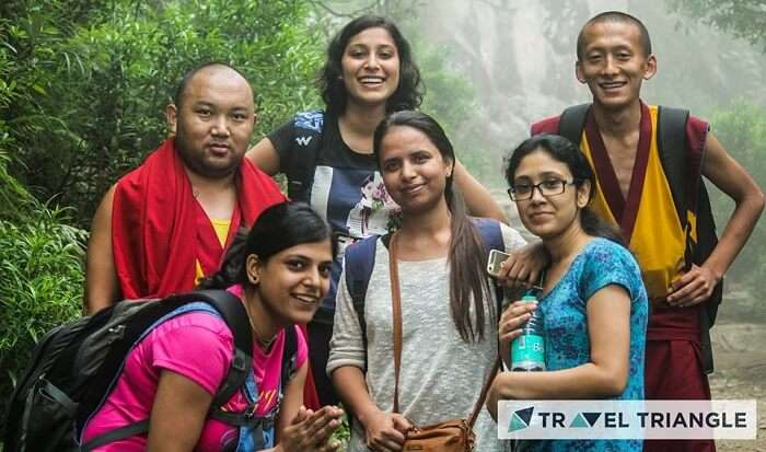 People traveling through TravelTriangle in McLeodganj