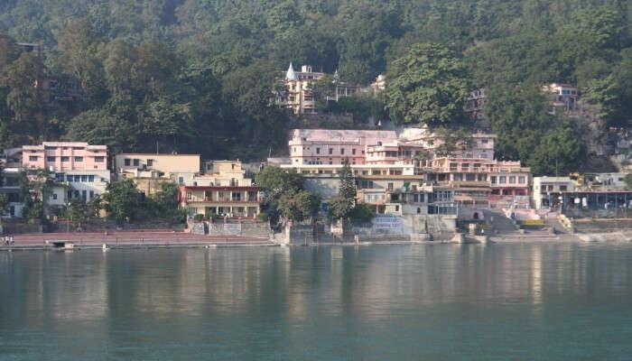 Ganga river bank