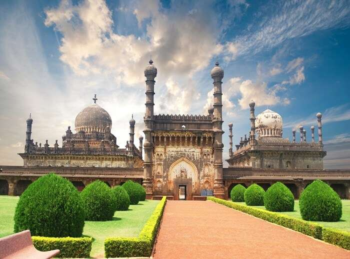 A spectacular structure in Bijapur - one of the best places to visit in Karnataka