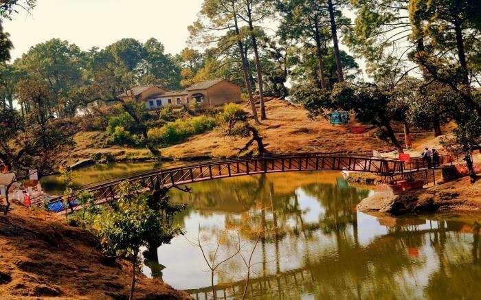 Beautiful view of Bhulla Lake