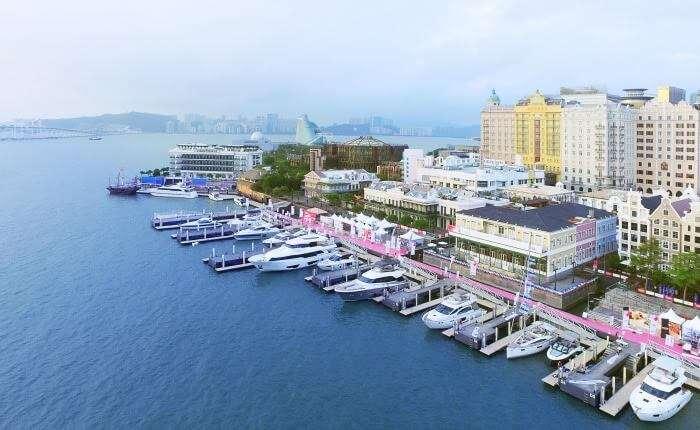 Marina at Macau Fisherman's Wharf