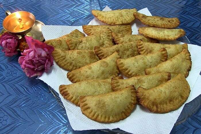 A dish of Gâteau de patates douces in Mauritius