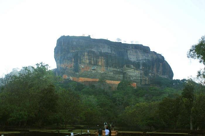 The majestic Sigiriya rock